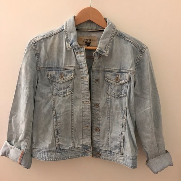 Zara Premium Wag Denim Jacket
